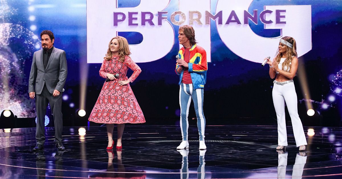 """""""Big Performance"""": Und plötzlich fällt Mick Jagger das Gebiss raus..."""