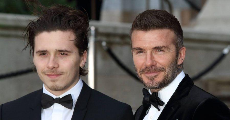 Brooklyn Beckham tätowiert sich die Augen seiner Verlobten