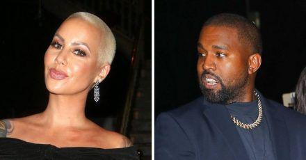 Kanye West und seine Ex Amber Rose haben noch immer Beef