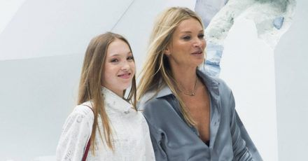 Kate Moss: Ihre Tochter stiehlt ihr die Show