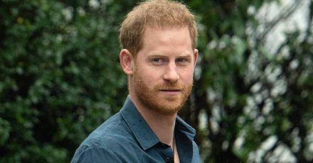Prinz Harry überrascht Londoner Marathon-Pärchen