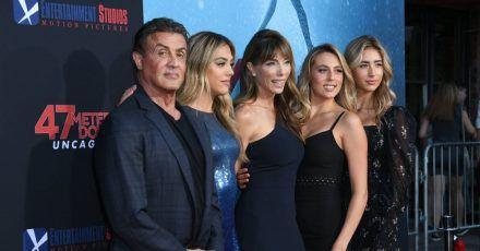 Sylvester Stallone: Sind seine Töchter die neuen Kardashians?