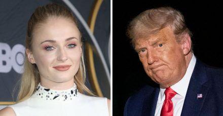 """Game of Thrones""-Star Sophie Turner verspottet Donald Trump"