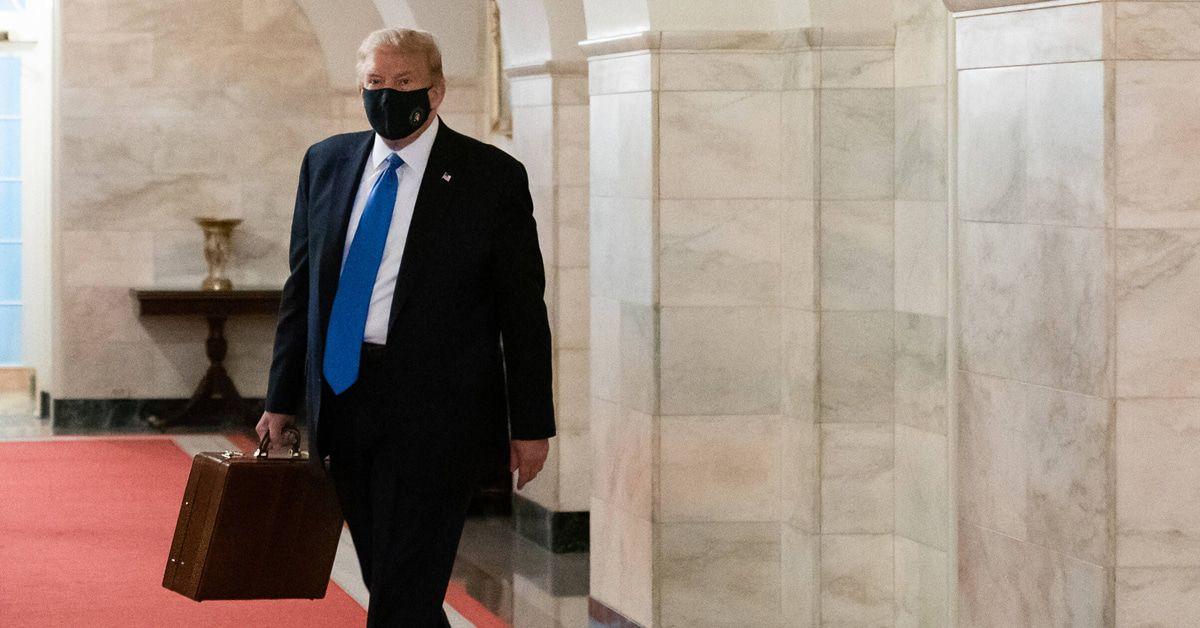 Donald Trump: Video aus dem Militärkrankenhaus