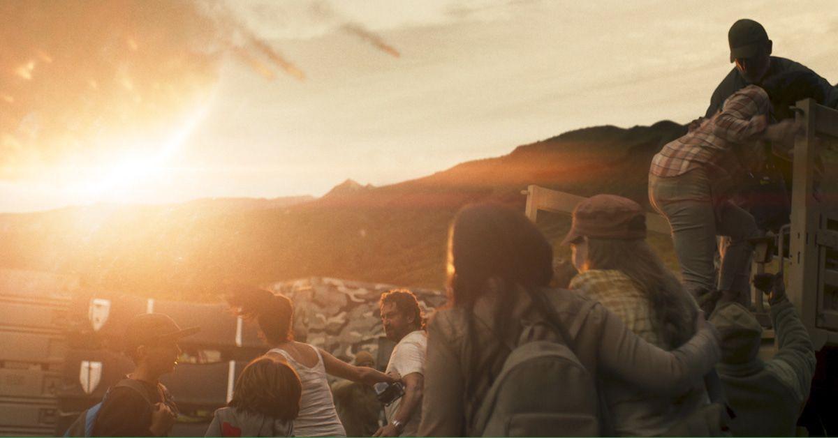 """Gerard Butler im Kometen-Katastrophenfilm """"Greenland"""""""