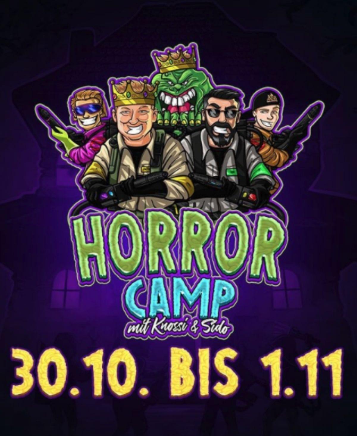 Das Horrorcamp: Halloween mit Sido, Knossi, Manny Marc und Co.