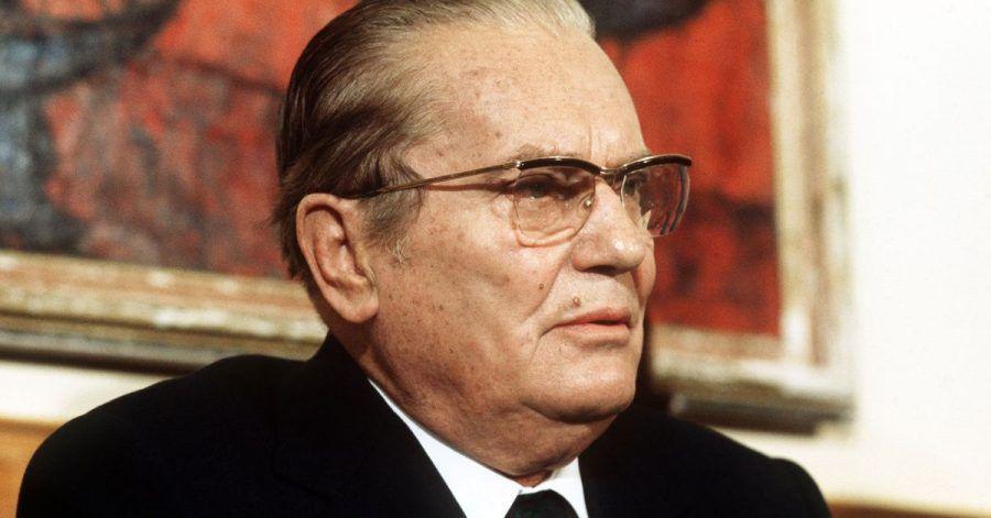 Der ehemalige jugoslawische Staatspräsident Josip Broz Tito (1973).
