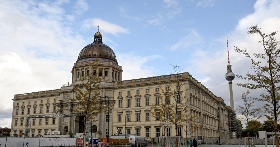 Blick auf das Berliner Stadtschloss.