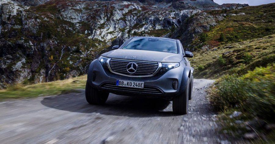 Brummer ohne Brummen: Der vollelektrische EQC 4x4² dient Mercedes als Konzeptauto, mit dem die Ingenieure auch Erfahrungen für eine elektrische G-Klasse sammeln.