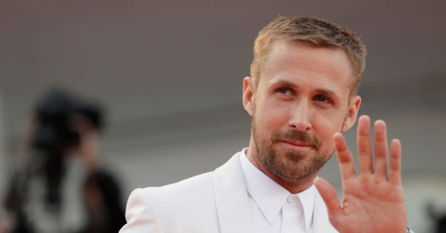 Ryan Gosling in Venedig (2018).