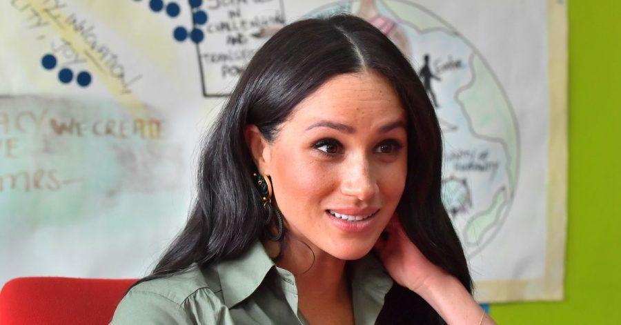 Herzogin Meghan 2019 bei einem Besuch der Organisation Action Aid in Johannesburg.