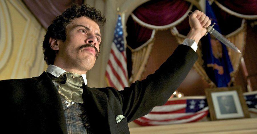 Toby Kebbell als Lincoln-Attentäter John Wilkes Booth.