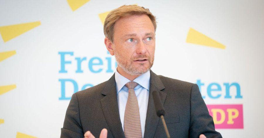 Christian Lindner, Fraktionsvorsitzender und Parteivorsitzender der FDP, wird ausgezeichnet.
