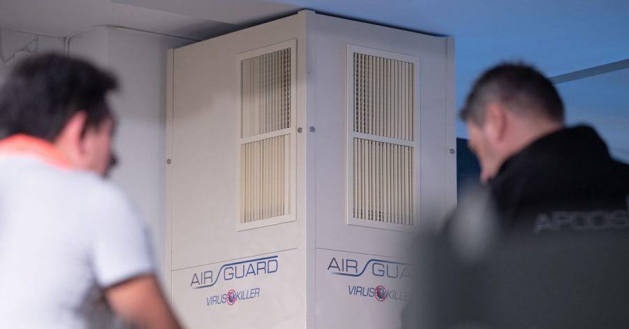 Luftfilteranlagen können gut funktionieren - je nachdem, wie das Innenleben konzipiert ist.