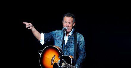 Kein Freund von Trump: Bruce Springsteen beim «Stand Up For Heroes»- Benefizkonzert 2018 in New York.