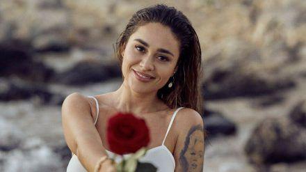 Dieses Jahr verteilt Melissa Damilia Rosen an ihre Verehrer. (jru/spot)