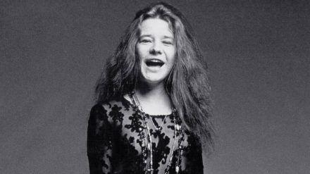 Janis Joplin bei einem Fotoshooting im Jahr 1969 (jru/spot)