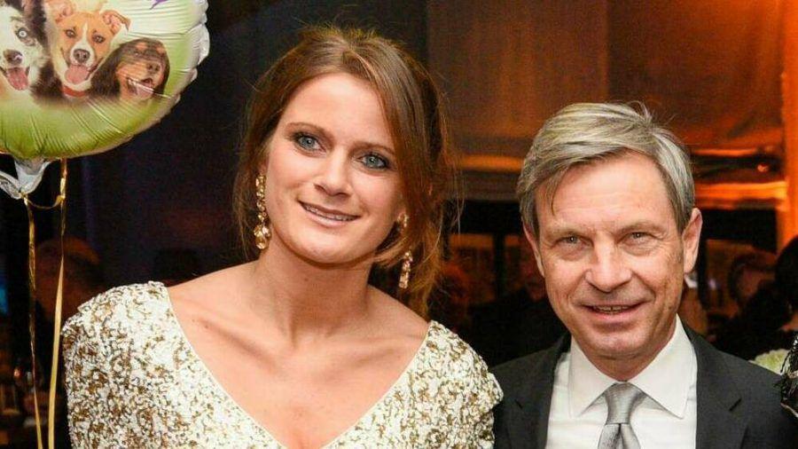 Susanne Seehofer mit Christian Auer im Januar (wue/spot)