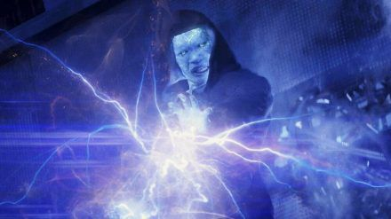 "Jamie Foxx als Electro in ""The Amazing Spider-Man 2"" (hub/spot)"