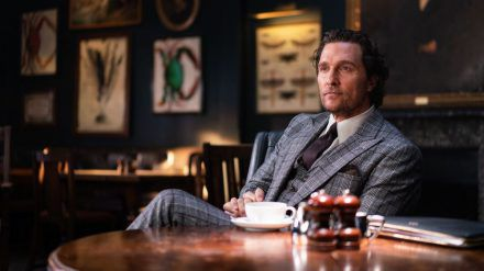 "Matthew McConaughey als Drogenboss in ""The Gentlemen"". (cos/spot)"