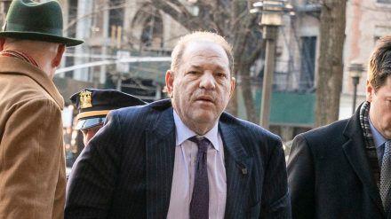 Ex-Hollywood-Produzent Harvey Weinstein wegen drei neuer Vergewaltigungsfälle angeklagt (ili/spot)
