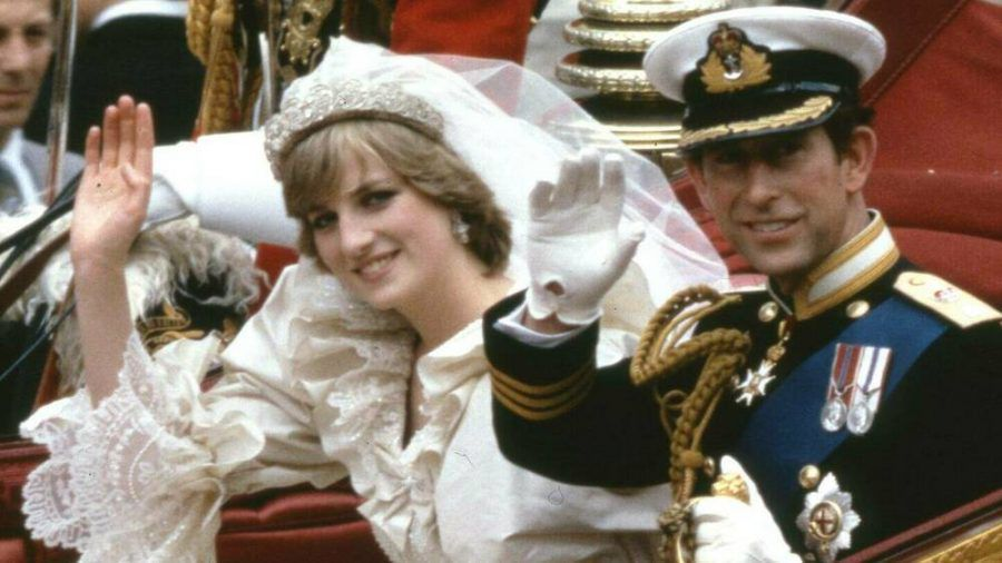 Prinzessin Diana und Prinz Charles bei ihrer Hochzeit am 29. Juli 1981 (ili/spot)