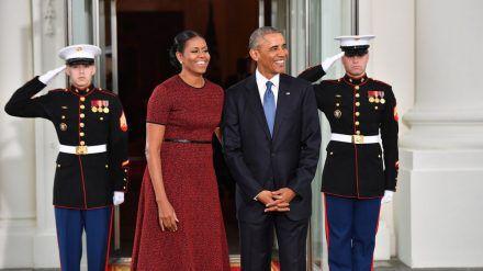 Michelle und Barack Obama sind seit 28 Jahren verheiratet (amw/spot)