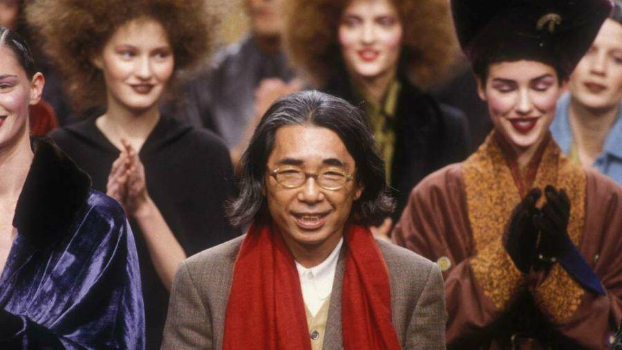 Der Designer Kenzo 1998 in Paris (mia/spot)