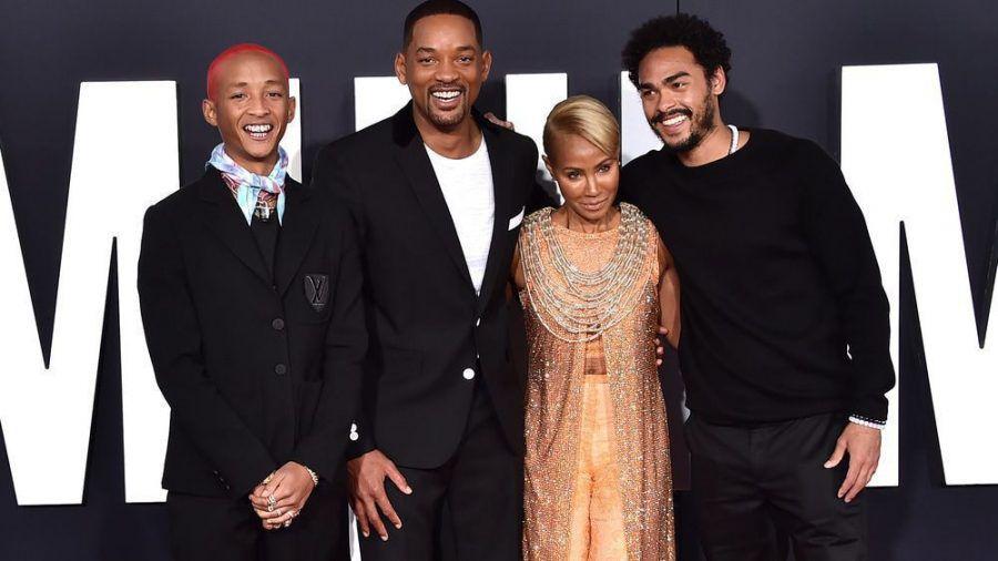 Jaden, Will, Jada und Trey Smith im Oktober 2019 auf dem roten Teppich (jom/spot)