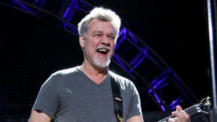 Eddie Van Halen bei einem seiner letzten Bühnenauftritte (ves/spot)