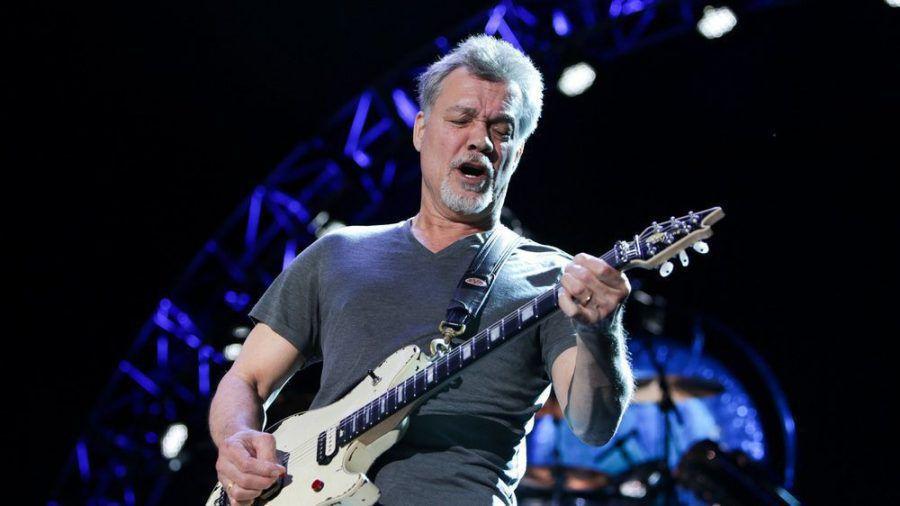Eddie Van Halen während eines Auftritts (wue/spot)