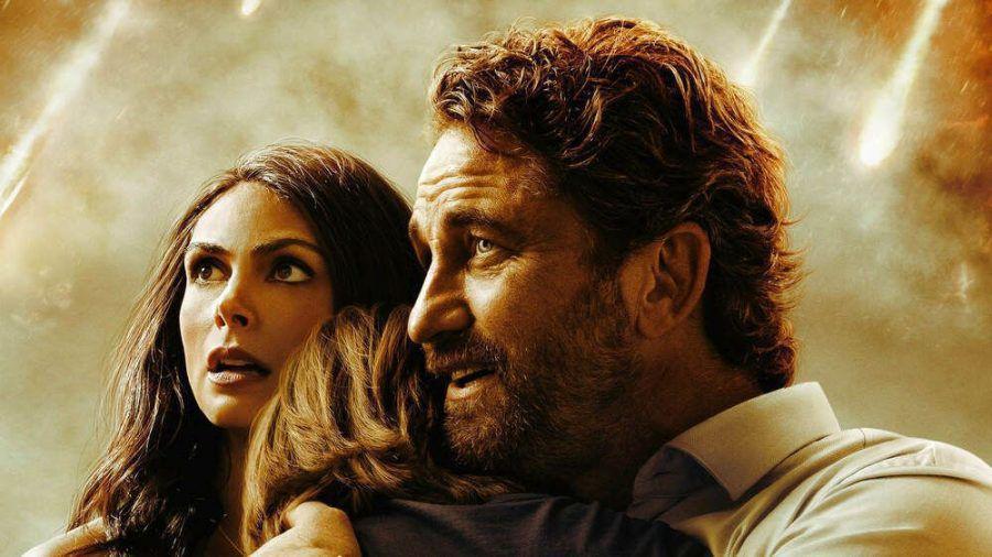 """Morena Baccarin und Gerard Butler in """"Greenland"""" (wue/spot)"""