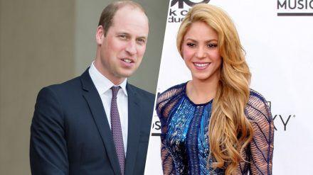 Prinz William und Shakira verstehen sich bestens. (jom/spot)