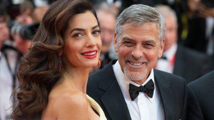 Die Clooneys setzen sich für das Kulturleben in ihrer Nachbarschaft ein. (jom/spot)