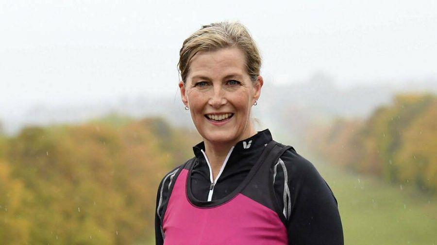 Vor wenigen Tagen nahm Gräfin Sophie von Wessex am virtuellen London-Marathon teil (ili/spot)