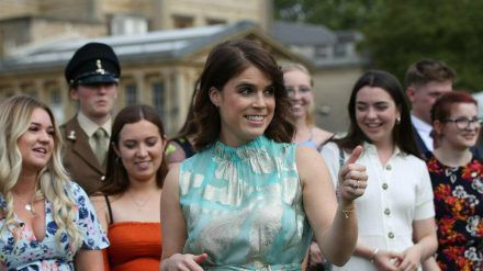 Prinzessin Eugenie macht Menschen mit Narben Mut. (ncz/spot)
