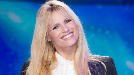 Michelle Hunziker bei einem Auftritt im italienischen TV (hub/spot)