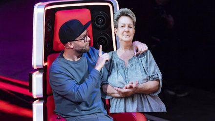 "Beste ""The Voice""-Freunde: Coach Mark Forster und ""Elke"" (stk/spot)"
