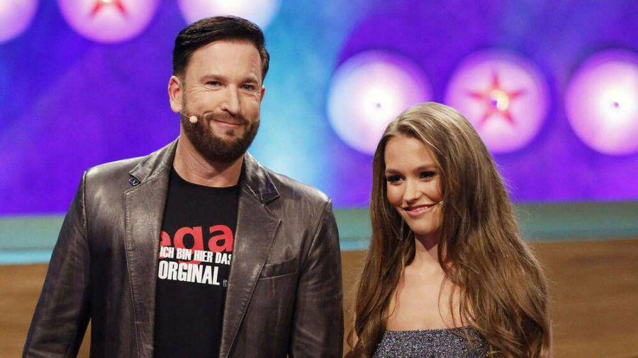 Michael Wendler und Laura Müller bei einem gemeinsamen TV-Auftritt in diesem Jahr. (ili/spot)
