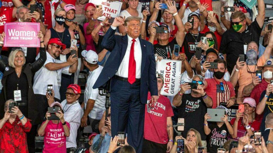 Trumps Wahlkampfauftritt in Florida (hub/spot)