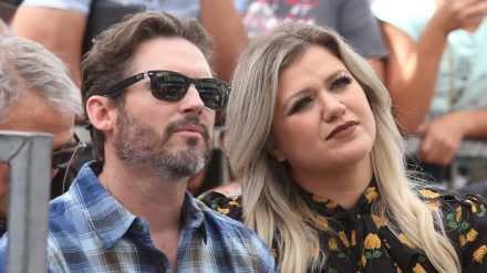 Brandon Blackstock und Kelly Clarkson auf einem Event vor der Corona-Krise. (wue/spot)