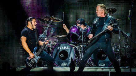 Metallica während eines Auftritts im vergangenen Jahr (wue/spot)
