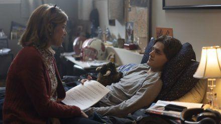 """In """"Clouds"""" sind Neve Campbell und Fin Argus als Mutter und Sohn zu sehen. (wag/spot)"""