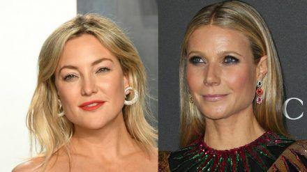 Kate Hudson (l.) und Gwyneth Paltrow verraten, wie ihre Co-Stars küssen. (cam/spot)