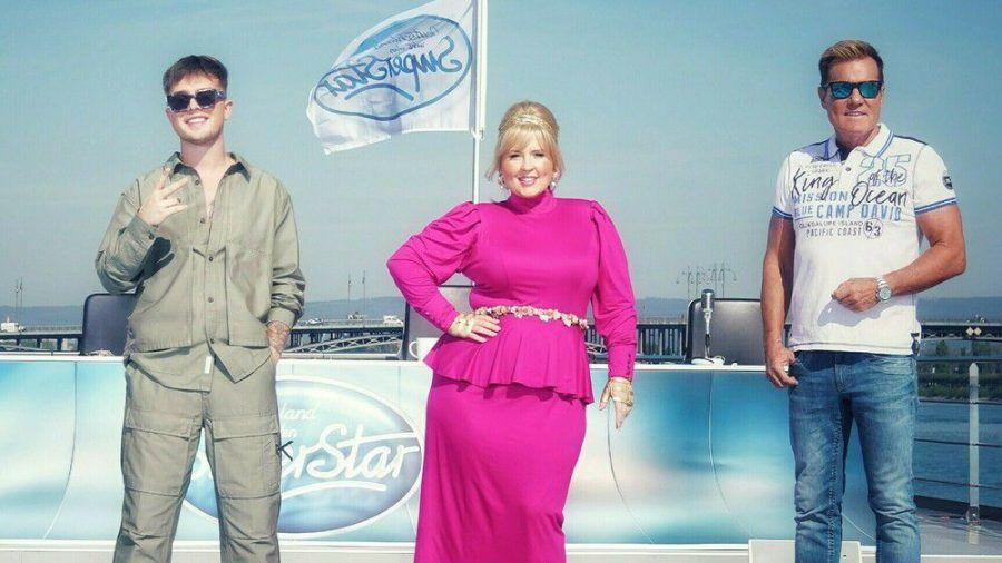 Mike Singer, Maite Kelly und Dieter Bohlen suchen Deutschlands neuen Superstar. (hub/spot)