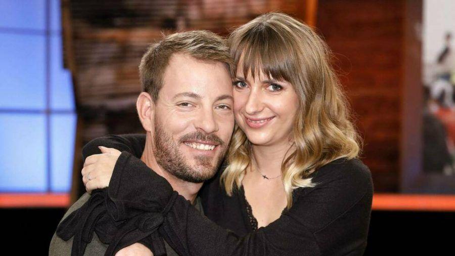Gerald und Anna Heiser freuen sich auf ihr Kind. (cos/spot)
