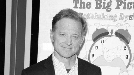 "James Redford bei der UK-Premiere seines Films ""The Big Picture: Re-Thinking Dyslexia"". (stk/spot)"
