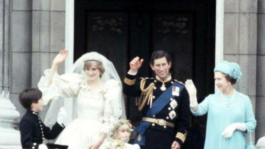 Lady Diana und Prinz Charles am Tag ihrer Hochzeit. (wue/spot)