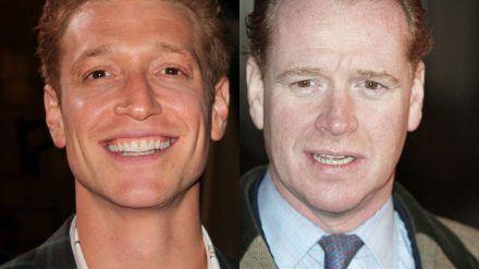 Daniel Donskoy (l.) und James Hewitt verbinden vor allem die roten Haare. (obr/spot)