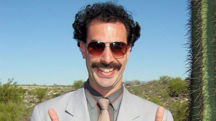 Sacha Baron Cohen macht als Borat wieder das, was er am besten kann: provozieren und bloßstellen (stk/spot)